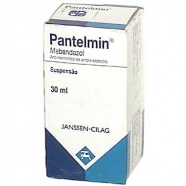 Pantelmin Suspensão Oral 600 mg/30 ml x 30 ml
