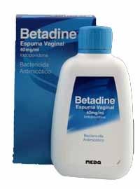 Betadine Espuma Vaginal 40mg/ml x 200 ml