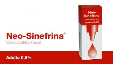 Neo-Sinefrina Solução Conta-Gotas 5 mg/ml x 15 ml