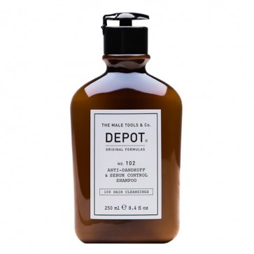 Depot Nº 102 Anti-Dandruff & Sebum Champô Anti-Caspa Oleosa 250ml