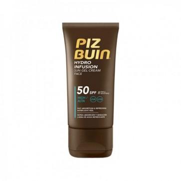 Piz Buin Hydro Infusion Gel Creme Solar Facial SPF50 50ml