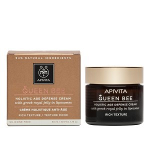 Apivita Queen Bee Creme de Face Rico 50ml