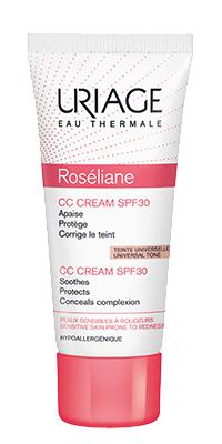Uriage Roseliane CC Creme FPS 30 40 ml