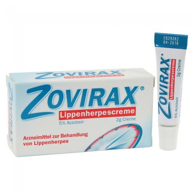 Zovirax Creme 50 Mg G X 2 G