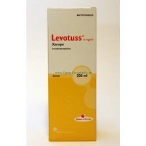 Levotuss Xarope 6 mg/ml x 200 ml