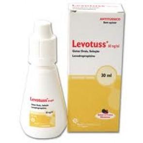 Levotuss Solução Oral Gotas 60 mg/ml x 30 ml
