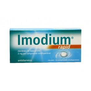 Imodium Rapid Comprimidos Orodispersíveis 2 mg x 10