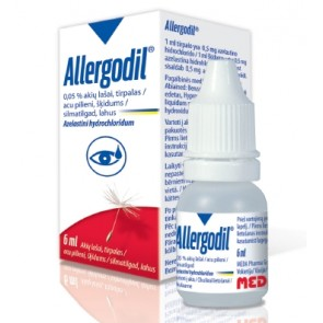 Allergodil Colírio 0,5 mg/ml x 6 ml