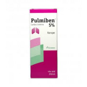 Pulmiben 5 % Xarope 50 mg/ml x 250 ml