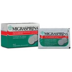 Migraspirina Comprimidos Efervescentes 500 mg x 12