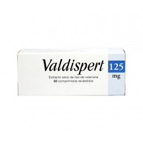 Valdispert Comprimidos Revestidos 125 mg x 50