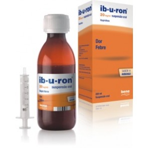 Ib-U-Ron Suspensão Oral 20 mg/ml x 200 ml