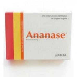 Ananase Comprimidos Revestidos 40 mg x 40