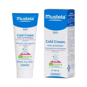 Mustela Bebé Cold Cream Creme Rosto 40 ml
