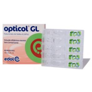 Opticol GL Solução Oftálmica Monodoses 0,30% 0,35 ml x 31