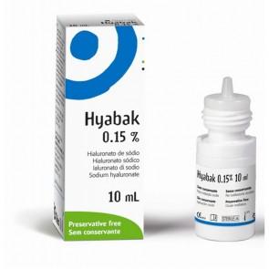 Hyabak Hipotónico Solução 10 ml