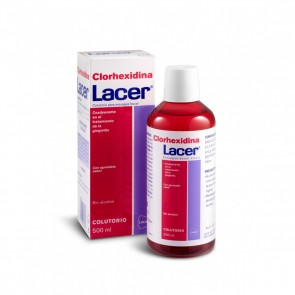 Lacer Clorohexidiana Colutório 500 ml