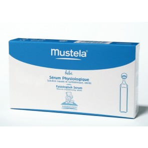 Mustela Bebé Soro Fisiológico 5 ml x 21