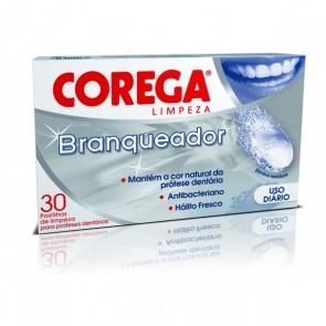 Corega Branqueadora Comprimidos Efervescentes x 30