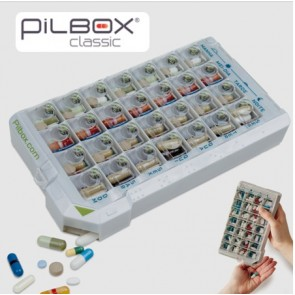 Pilbox City Caixa Comprimidos para 7 Dias x 4 Toma