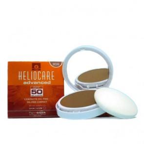 Heliocare Compacto Oil-Free FPS 50+ Cor Escura 10 g