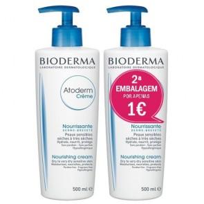 Atoderm Bioderma Creme 500 ml x 2 - Promoção