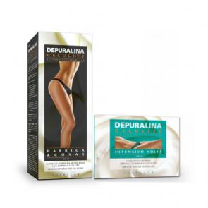 Depuralina Celulite Intensivo Noite + Oferta Crene Barriga e Coxas 500ml+250ml
