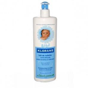 Klorane Bebé Leite Toilette S/ Enxaguar 500 ml