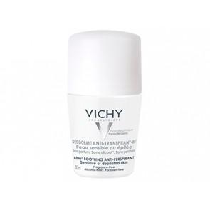 Vichy Desodorizante Pele Sensível Roll On 50 ml X 2