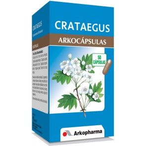 Arkocápsulas Crataegus Cápsulas x 50