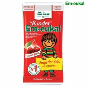 Em Eukal Infantil Rebuçados Tosse 75 g Sem Açúcar