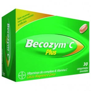 Becozyme C Plus Comprimidos x 30