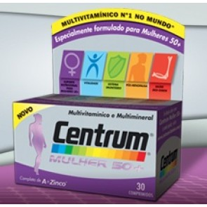 Centrum Mulher 50+ Comprimidos x 30