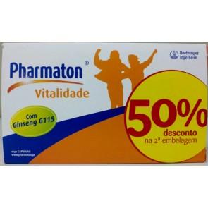 Pharmaton Vitalidade Cápsulas x 30 x 2 + 50% Desconto