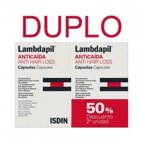 Lambdapil Anticaída Cápsulas x 60 x 2 (Duo)