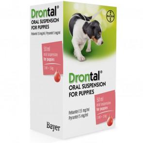 Drontal Puppy Suspensão Oral 1ml/1Kg 50 ml