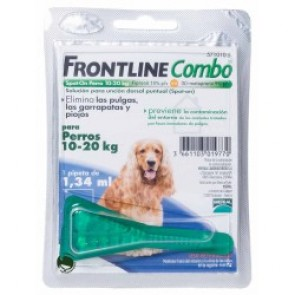 Frontline Combo Solução Cão 10-20 Kg 1,34 ml x 1