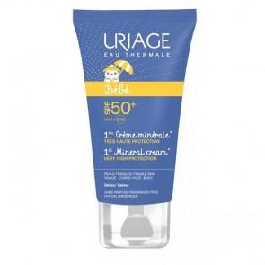 Uriage BebébCreme Mineral FPS50+ 50ml