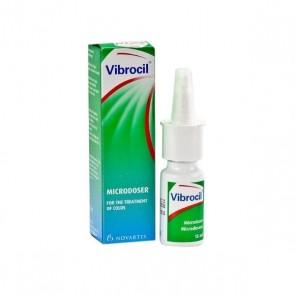 Vibrocil Solução Pulverização Nasal 0,25/2,5 mg/ml x 15 ml