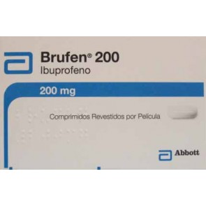 Brufen Comprimidos Revestidos 200 mg x 20