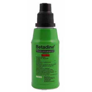 Betadine Solução para Gargarejar 100mg/ml x 125 ml