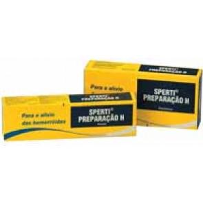 Sperti Preparação H Pomada Retal 10/30 mg/g x 25