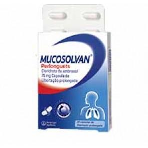 Mucosolvan Perlonguets Cápsulas Libertação Prolongada 75 mg x 20