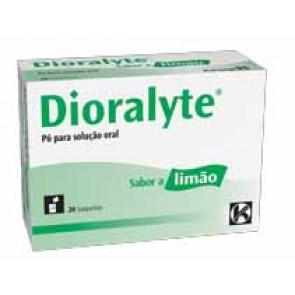 Dioralyte Pó Solução Oral Sabor Limão x 20