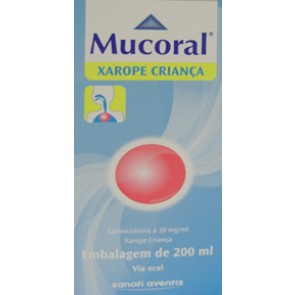 Mucoral Xarope 20 mg/ml x 200 ml