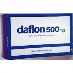 Daflon 500 Comprimidos 500 mg x 60