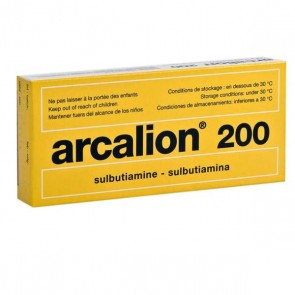 Arcalion Comprimidos 200 mg x 60