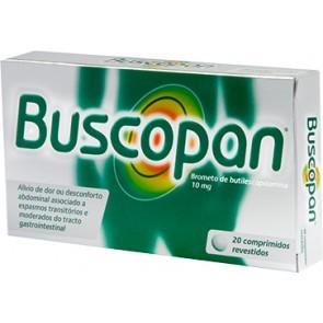Buscopan Comprimidos Revestidos 10 mg x 20