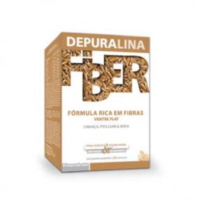 Depuralina Fiber Fórmula Rica Em Fibras. Cápsulas 60unid.