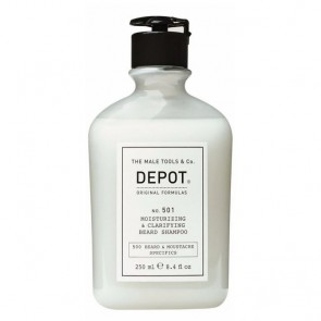 Depot Nº 501 Moisturizing & Clarifying Beard Champô Da Barba 250ml